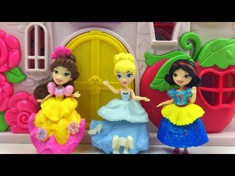 castillo-princesas-disney-pequeÑo-reino-con-cenicienta-y-su-tocador-de-maquillaje---little-kingdom