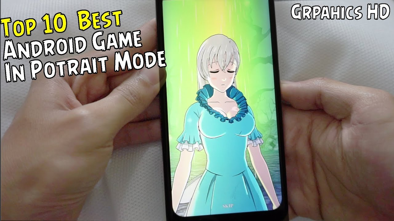 Top 10  Best Android Games In Potrait Mode #1