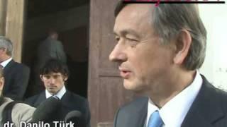 (www.stajerc.tv) Danilo Türk Barrack Obama