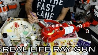 REAL LIFE RAY GUN FOR NERF ZOMBIES!