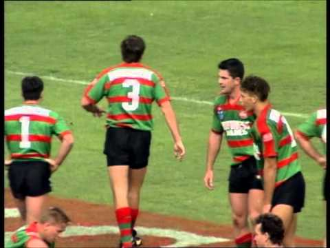 Debut of Andrew Johns - Souths vs. Newcastle, Round 1, 1994