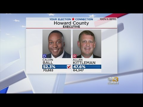 Major Upsets In Howard, Anne Arundel County Executive Races