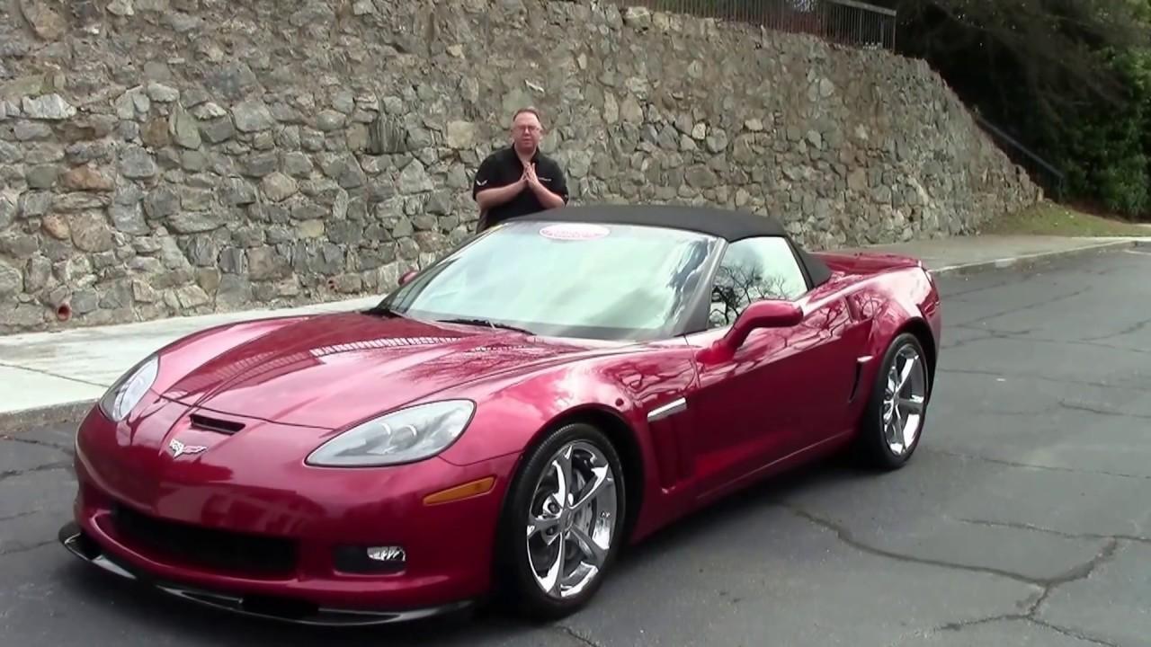 C6 Grand Sport >> 2011 Corvette Grand Sport 4LT Convertible - YouTube