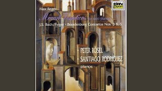 Reger - Variations and Fugue on a theme of Mozart Op. 132a, for two pianos- Variation VI Sostenuto