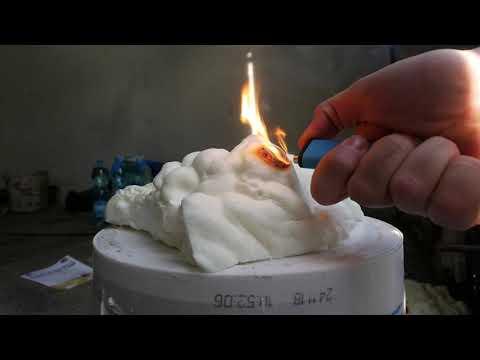 Jak płonie piana poliuretanowa? | izolacja domu pianką PUR - odporność na spalanie - palność pianki