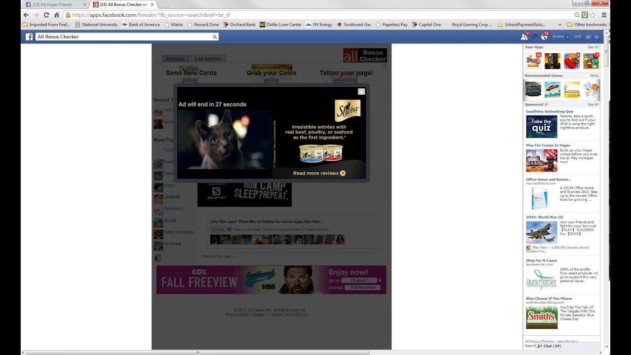 Myvegas slots facebook