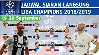 Jadwal Siaran Langsung liga Champions 2018 Malam ini 19-20 Dini hari