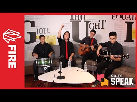 So to Speak: The Free Speech Podcast interviews rock band The Slants