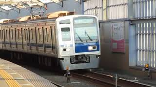 西武6000系6109F富士見台駅高速通過