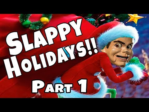Slappy ESCAPES Box Fort Jail!! Slappy Holidays Part 1