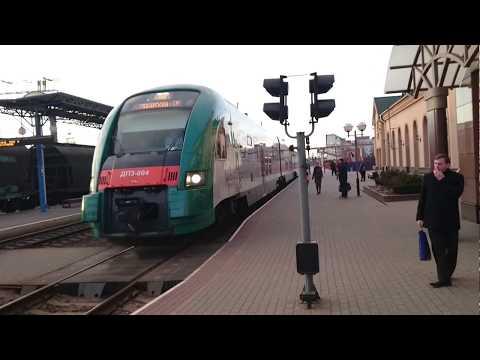 Скорый поезд бизнес класса Минск- Гродно.Тест на участке Лида- Гродно-понравилось все включая WI-FI