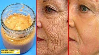 Aplicar Esta Máscara - Eliminar Las Arrugas En La Cara Y Te Hace Parecer Más Joven Que Tu Edad