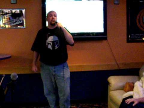 I Walk The Line, Johnny Cash - Homer at karaoke
