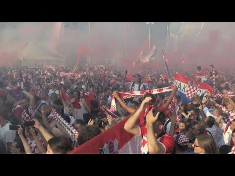 مونديال 2018: كرواتيا الحزينة فخورة بأبطالها على رغم الخسارة