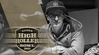 Burns Broadways Aces | 2018 Super High Roller Bowl | PokerGO