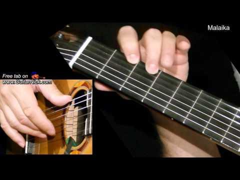 MALAIKA: Easy Guitar Lesson + TAB + CHORDS by GuitarNick