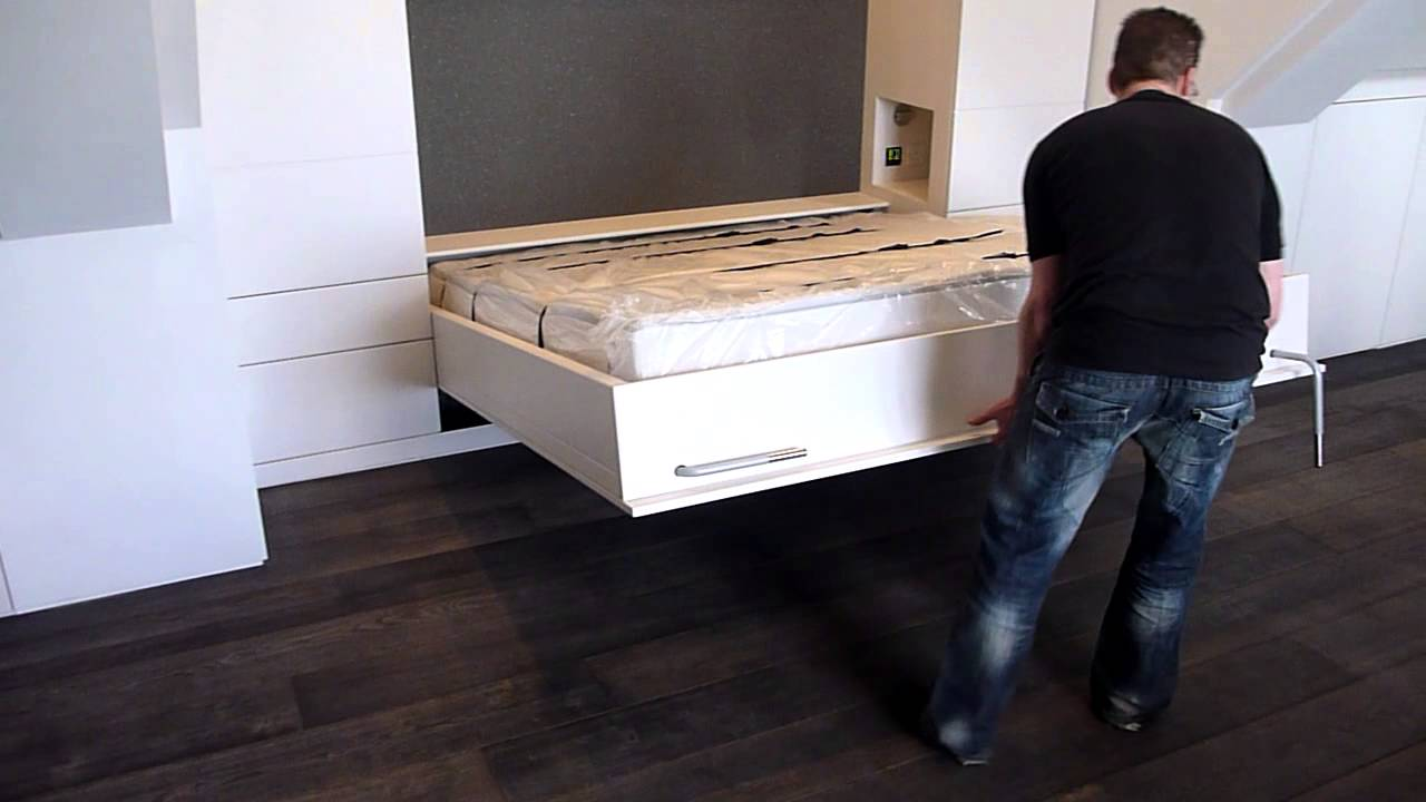 Wall Bed Super King Size Youtube
