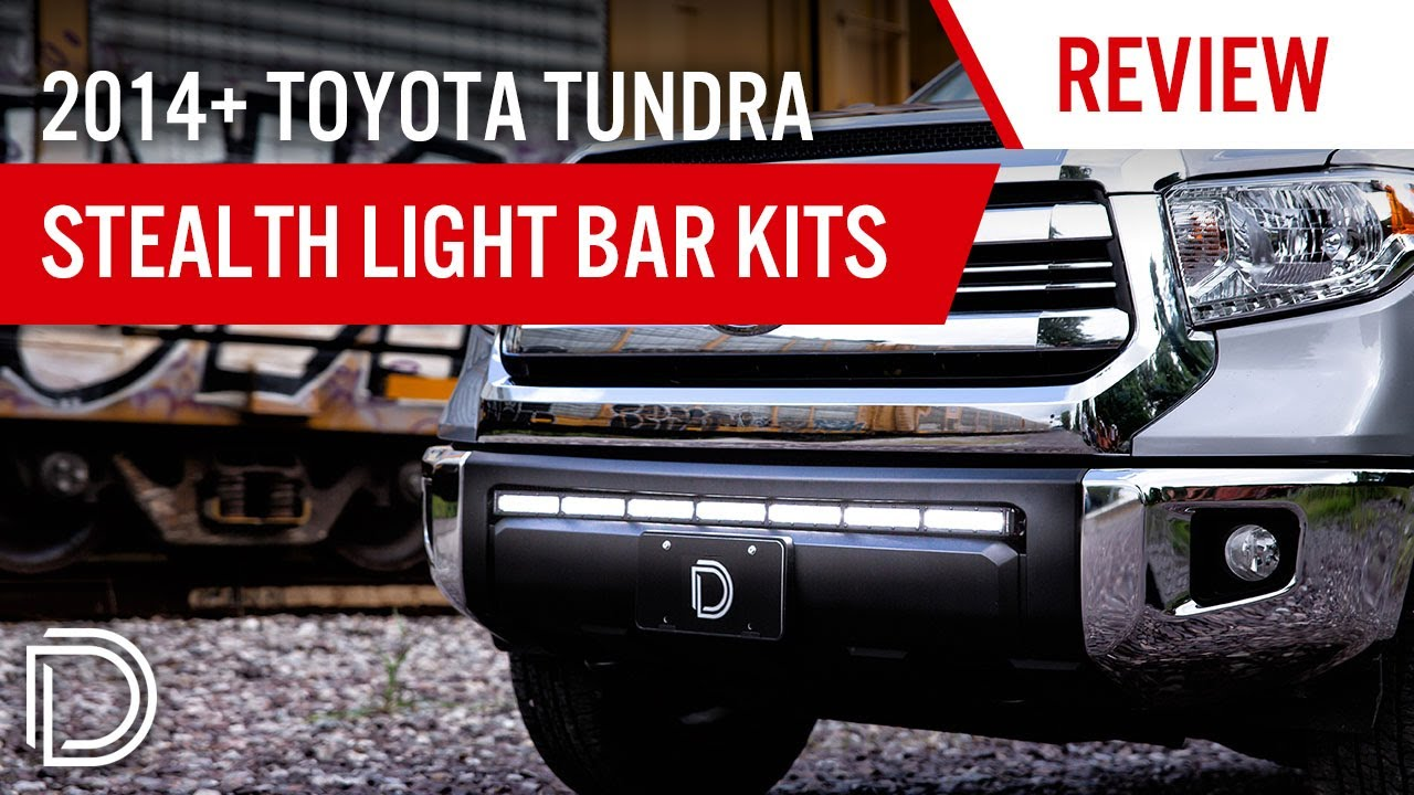 2014 toyota tundra stealth led light bar bracket kit c a k electronics [ 1280 x 720 Pixel ]