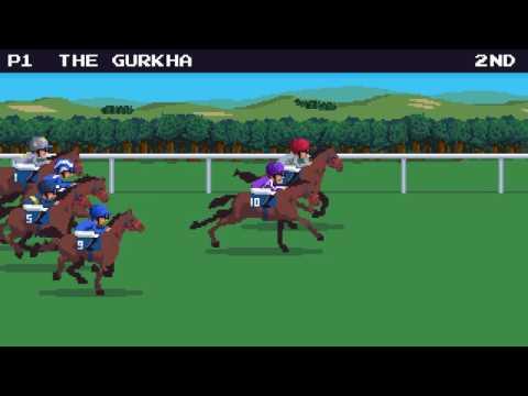 Qatar Sussex Stakes 8-bit video game