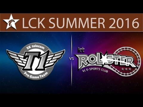 [LoL LCK] SKT vs KT Game 4   LCK Sumer 2016 (10.08.2016) - SK Telecom T1 vs KT Rolster