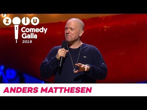 Anders Matthesen - ZULU Comedy Galla 2018