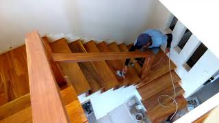 Part 2 Stair Step Hard Wood Re-Varnish Step By Step Tagalog