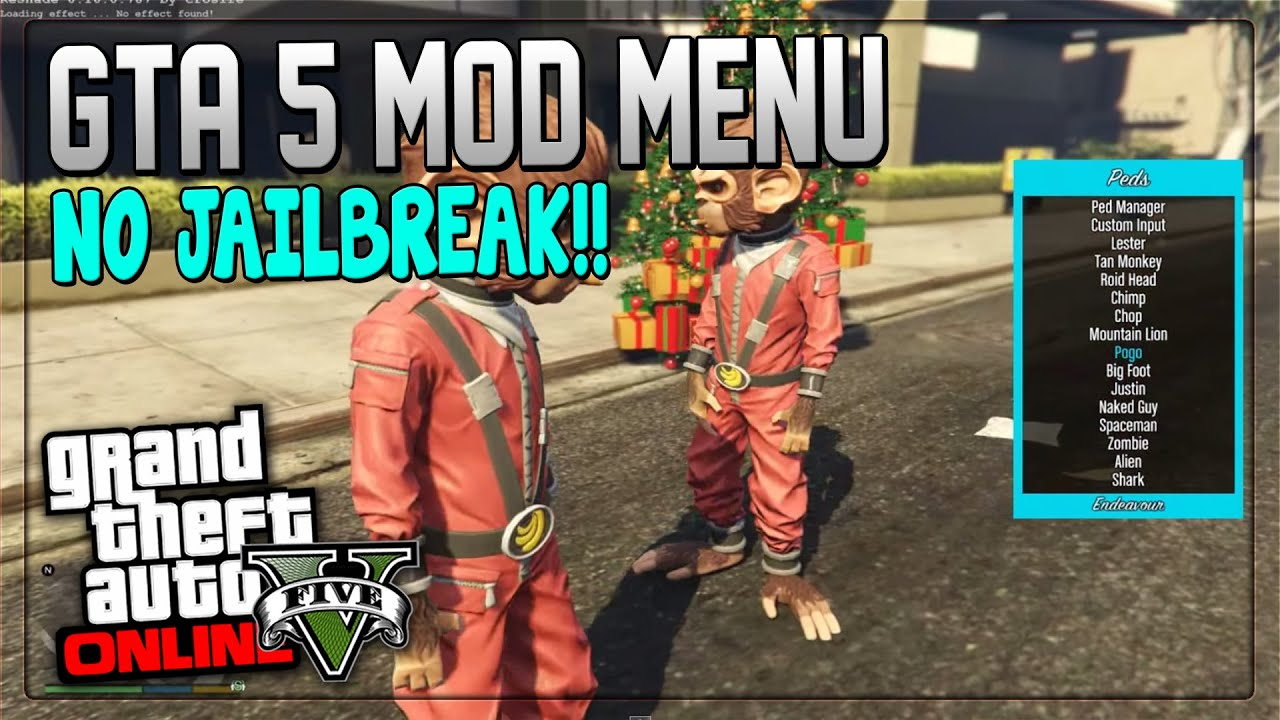 GTA 5 Mods How to install USB mod menu without
