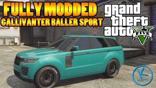 GTA 5 Fully Modified: GALLIVANTER BALLER (sport version)