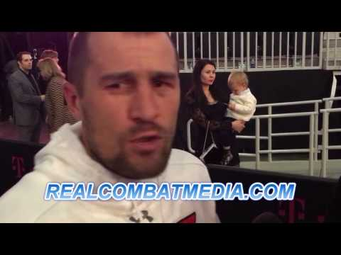 "SERGEY KOVALEV POST FIGHT REACTION AFTER LOSING TO ANDRE WARD ""I KICKED HIS ASS"""