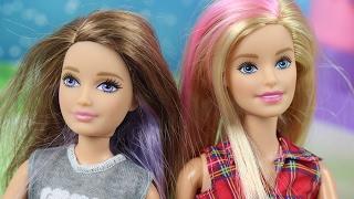 Szalone fryzury | Barbie | Bajki dla dzieci