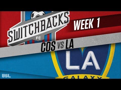 Colorado Springs Switchbacks FC vs LA Galaxy II: March 17, 2018