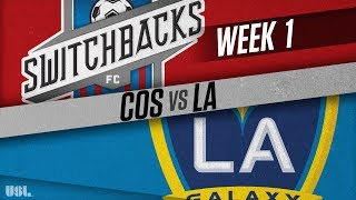 Colorado Springs Switchbacks FC vs LA Galaxy II full match