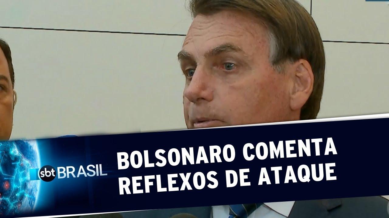 Bolsonaro diz que ataque dos EUA pode causar alta no preço do combustível   SBT Brasil (03/01/20)