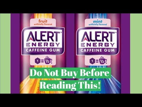 The Ultimate Alert Gum Review: Don't Try Any Caffeine Gum