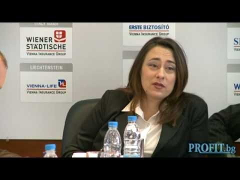Svetla Nestorova, CEO of PLC Life Vienna Insurance Group