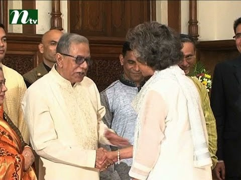 President shares greetings at Bangabhaban