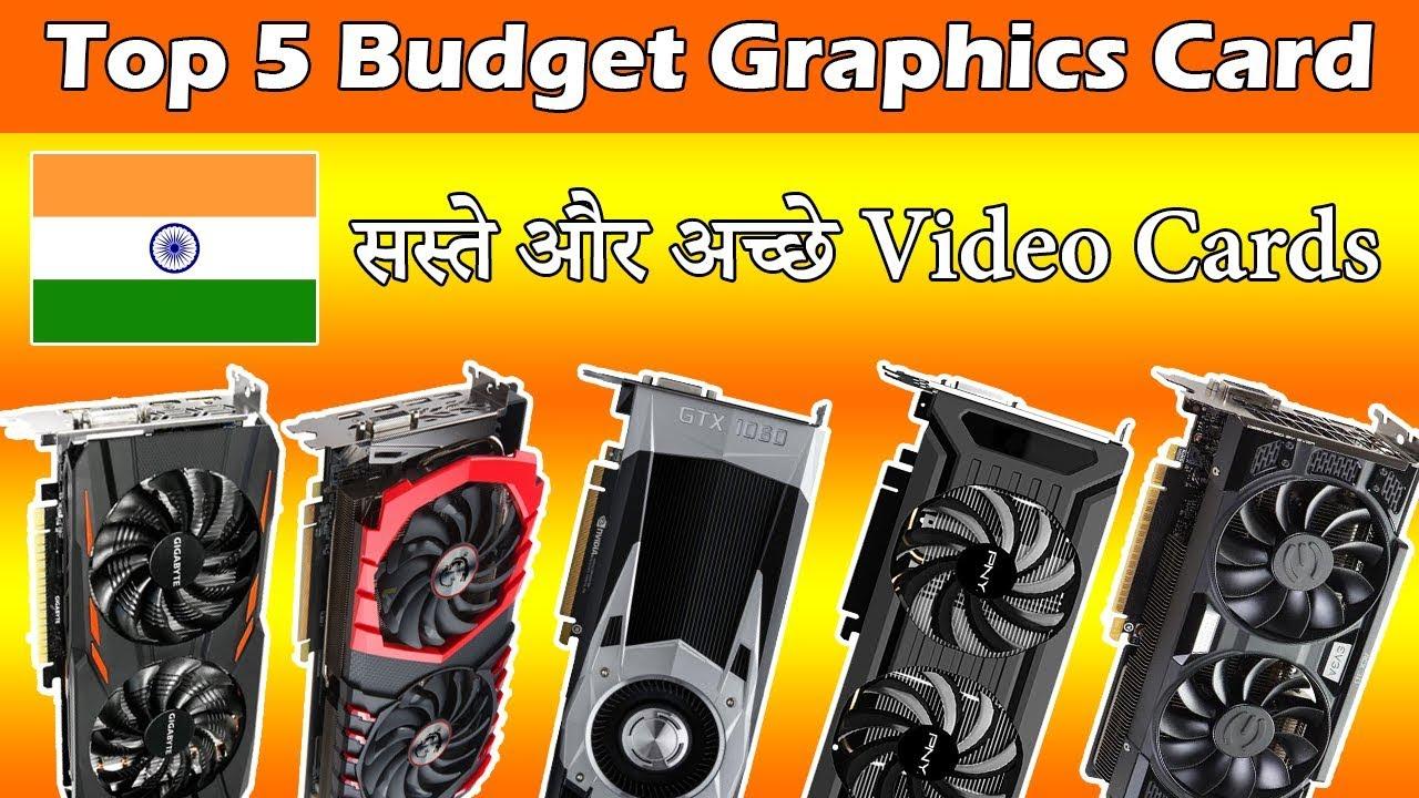 Top 5 Best Budget Graphics Card In India [Paisa Vasool] - YouTube