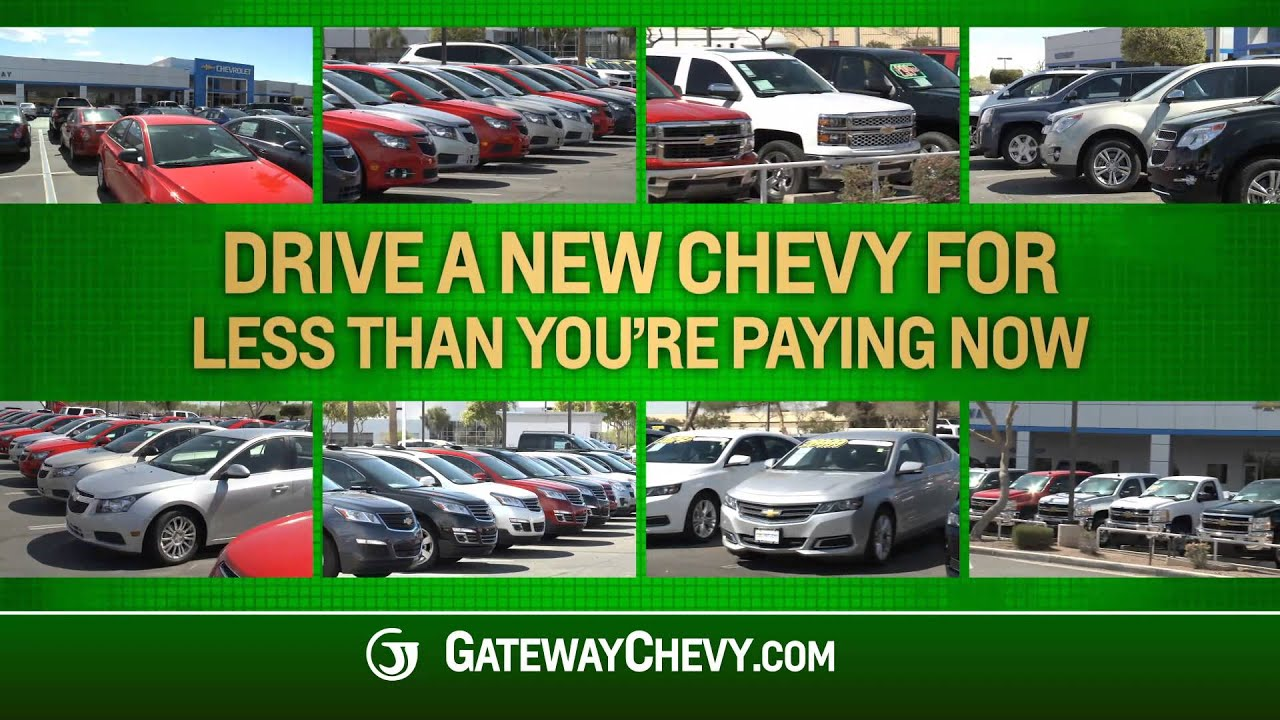 The Big Buyback Event is at Gateway Chevrolet! - YouTube