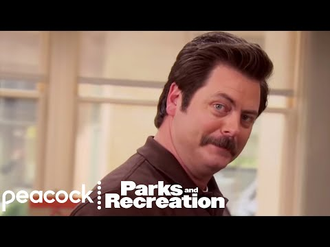 Ron Swanson, Woman Of The Year - Parks and Recreation