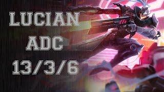 League of Legends - Lucian/Leona vs Tristana/Trundle (5.17) Diamond [PT-BR]