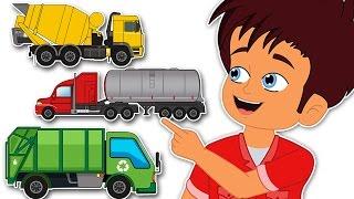Surprise Eggs Trucks | Tanker Bulldozer Cargo Trucks | CDS Kids Tv