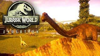 Jurassic World Evolution #34 | Zurück auf der Insel der Dinosaurier | Gameplay German Deutsch thumbnail
