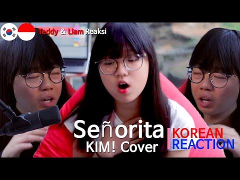 [IDN SUB][Reaksi] Orang korea, Shawn Mendes, Camila Cabello - Señorita (KIM! Cover), Korean Reaction