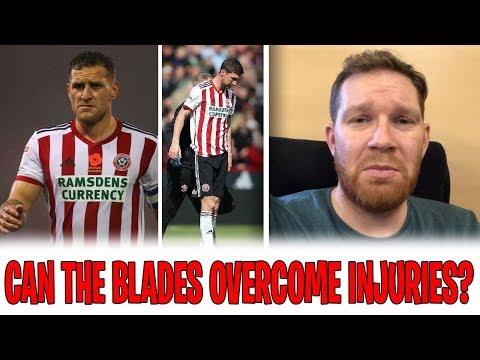 SHEFFIELD UNITED INJURY PROBLEMS 🤕 | Can Blades overcome injuries to beat Forest? | Ingood Nick