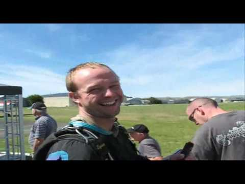 Dan Harwood Skydive Over Masterton, Nz