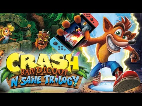 ¡Asi es Crash en Switch! - Crash Bandicoot N'sane Trilogy (Switch) DSimphony