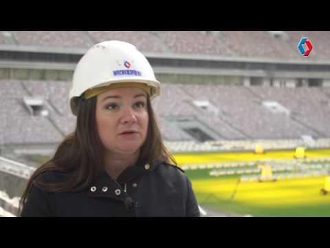 """О том, как стадион """"Лужники"""" изменился в ходе реконструкции"""