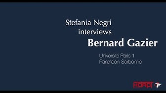 Miniatura del video: #GTL2019 - Interview with Bernard Gazier