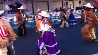 Danza de los rubios, fiesta de medio año de la virgen de Santa Rosa de Lima