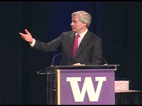 Jamie Dimon of Chase speaks in Seattle on Nov. 2, 2011